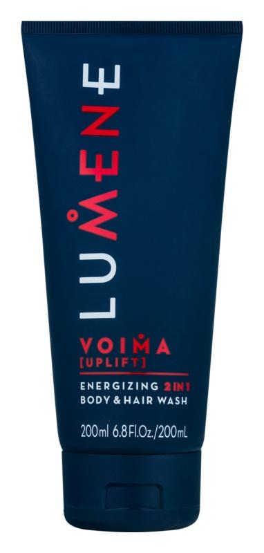 Lumene Men Voima [Uplift] energizující šampon a mycí gel 2 v 1
